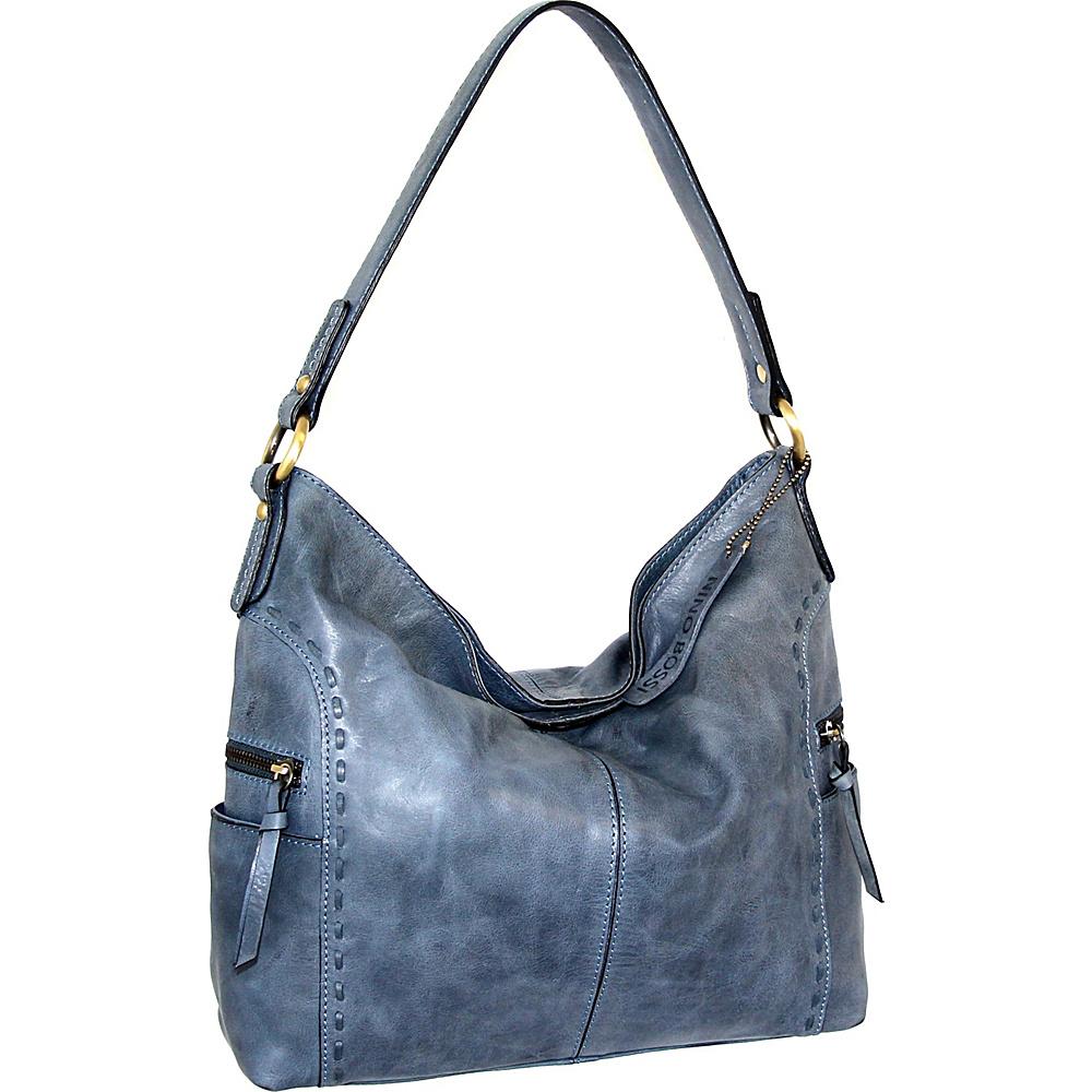 Nino Bossi Misty Shoulder Bag Denim - Nino Bossi Leather Handbags - Handbags, Leather Handbags