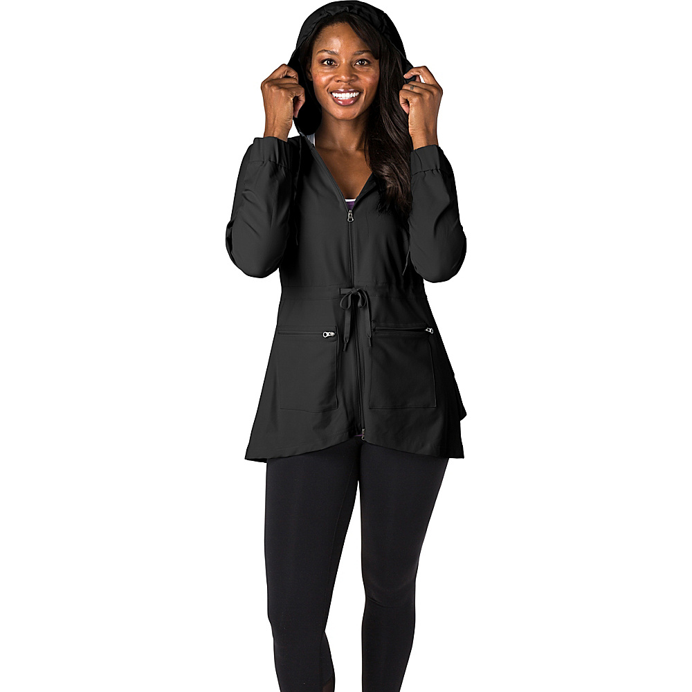 Soybu Womens Bustle Jacket L - Black - Soybu Womens Apparel - Apparel & Footwear, Women's Apparel