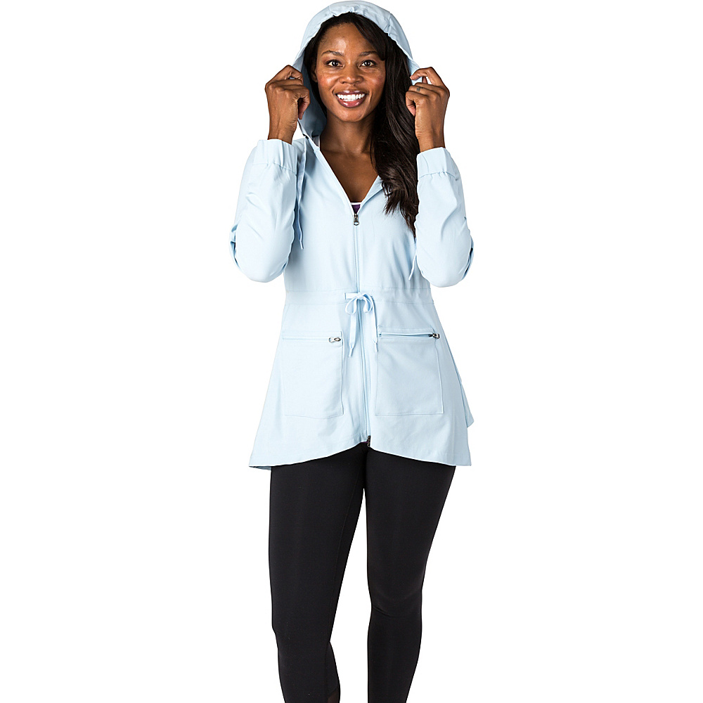 Soybu Womens Bustle Jacket L - Aero Blue - Soybu Womens Apparel - Apparel & Footwear, Women's Apparel