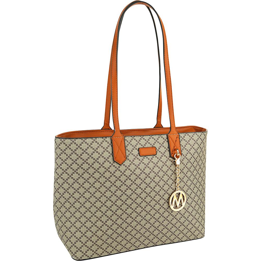 MKF Collection by Mia K. Farrow Daisha Tote Camel - MKF Collection by Mia K. Farrow Manmade Handbags - Handbags, Manmade Handbags