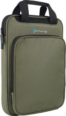 TechProducts 360 Vertical 13 inch Vault Green - TechProducts 360 Electronic Cases