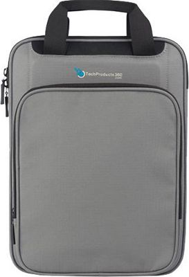 TechProducts 360 Vertical 13 inch Vault Grey - TechProducts 360 Electronic Cases