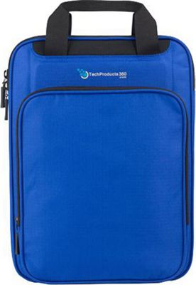 TechProducts 360 Vertical 13 inch Vault Blue - TechProducts 360 Electronic Cases