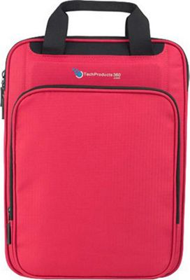 TechProducts 360 Vertical 13 inch Vault Red - TechProducts 360 Electronic Cases