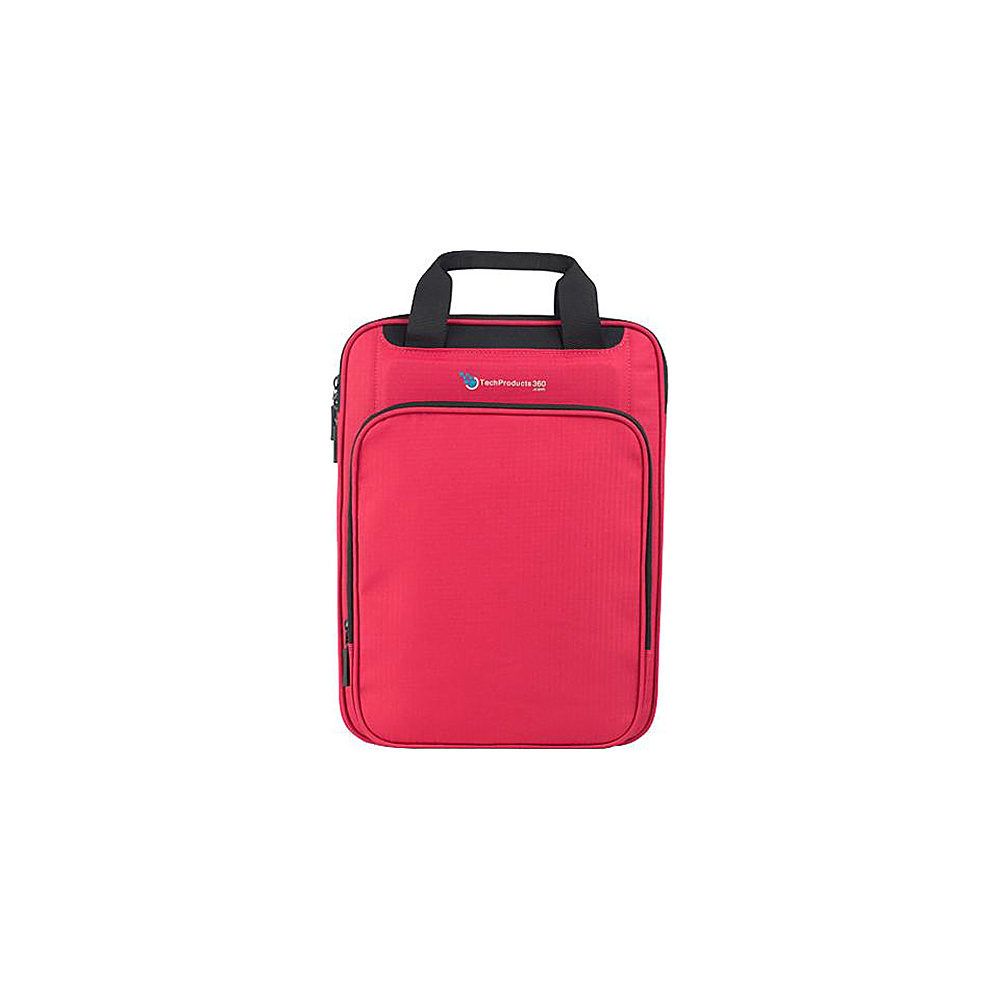 "Techproducts 360 Vertical 13"" Vault Red Techproducts 360 Electronic Cases"