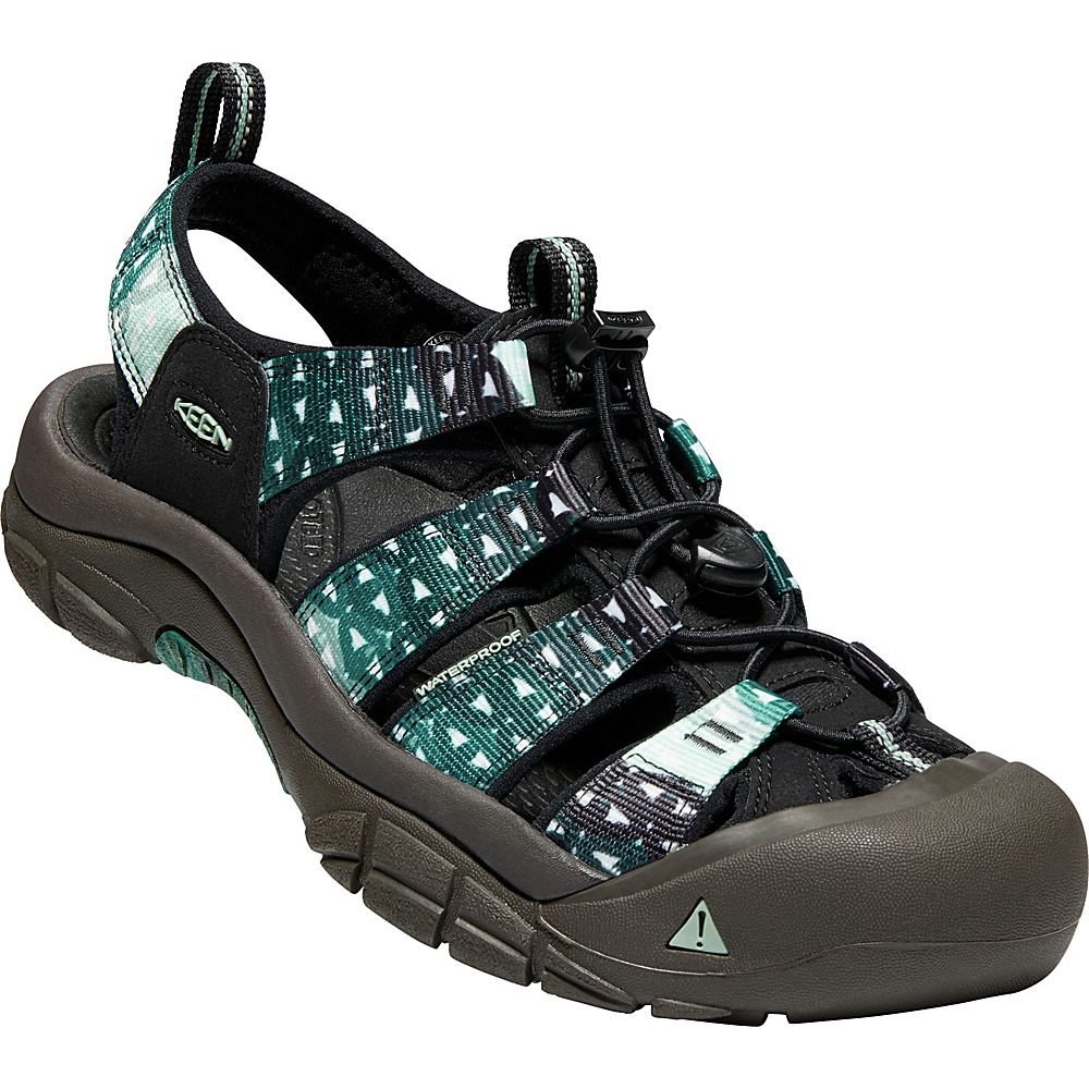 KEEN Mens Newport Retro Sandal 10 - Zen - KEEN Mens Footwear - Apparel & Footwear, Men's Footwear