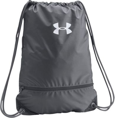 Under Armour UA Team Sackpack Graphite/Graphite/White - Under Armour Everyday Backpacks