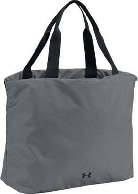 Under Armour UA Favorite Graphic Tote Graphite/Black/Black - Under Armour Gym Bags