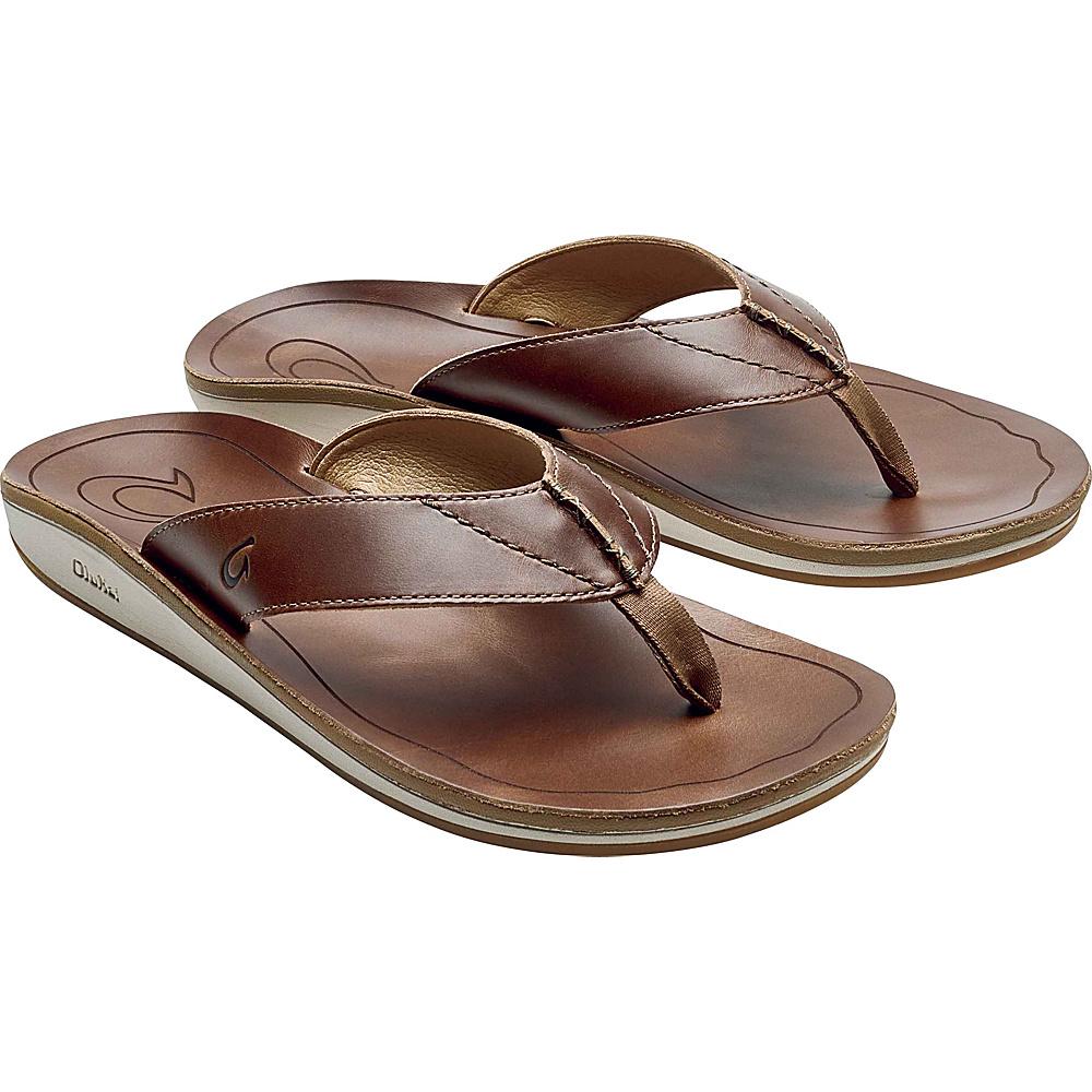 OluKai Mens Nohona IlI Sandals 7 - Tan/Tan - OluKai Mens Footwear - Apparel & Footwear, Men's Footwear