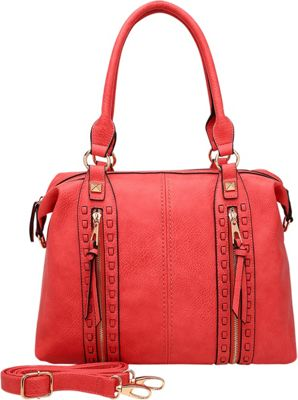 STYLE STRATEGY Lynn Satchel Red - STYLE STRATEGY Manmade Handbags