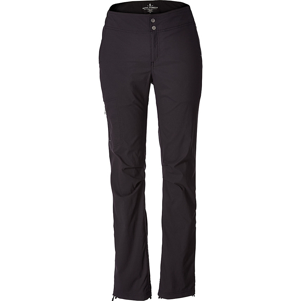 Royal Robbins Womens Jammer II Pant 6 - 32in - Jet Black - Royal Robbins Womens Apparel - Apparel & Footwear, Women's Apparel