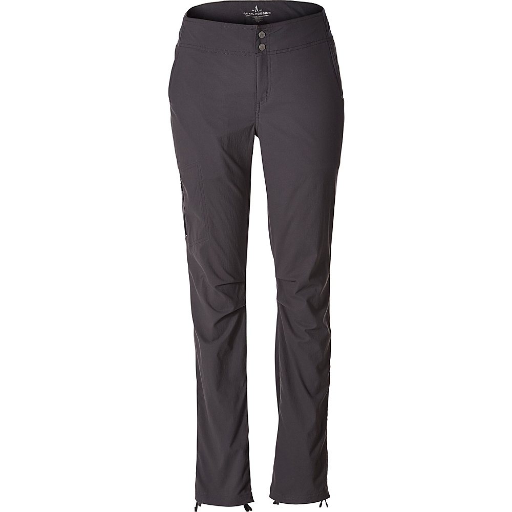 Royal Robbins Womens Jammer II Pant 14 - 32in - Asphalt - Royal Robbins Womens Apparel - Apparel & Footwear, Women's Apparel