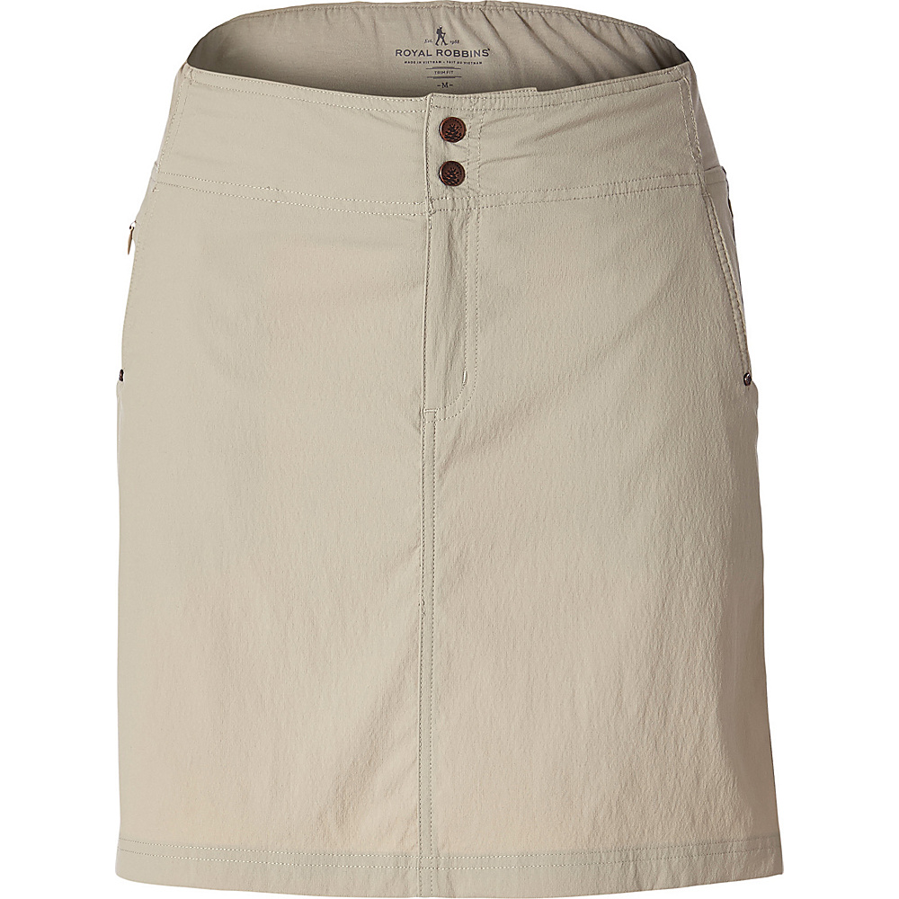 Royal Robbins Womens Jammer II Skirt XS - Light Khaki - Royal Robbins Womens Apparel - Apparel & Footwear, Women's Apparel