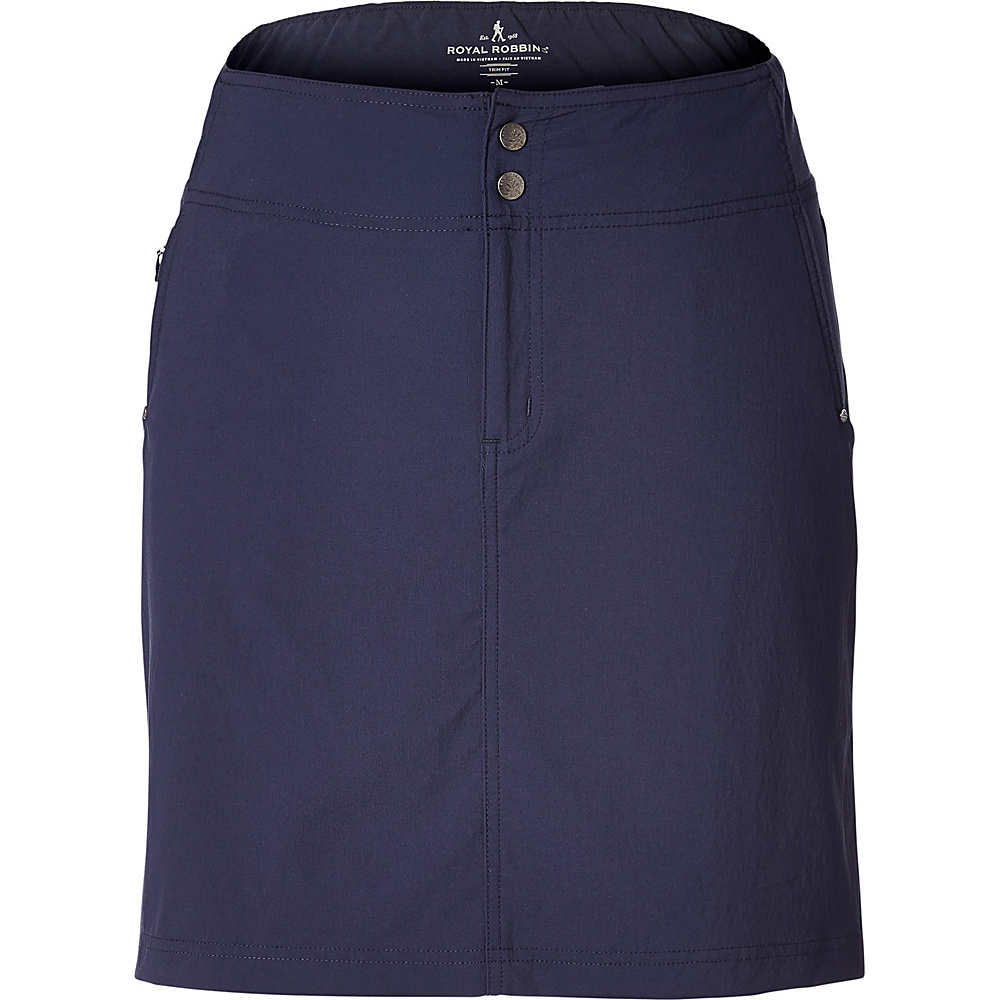 Royal Robbins Womens Jammer II Skirt M - Navy - Royal Robbins Womens Apparel - Apparel & Footwear, Women's Apparel