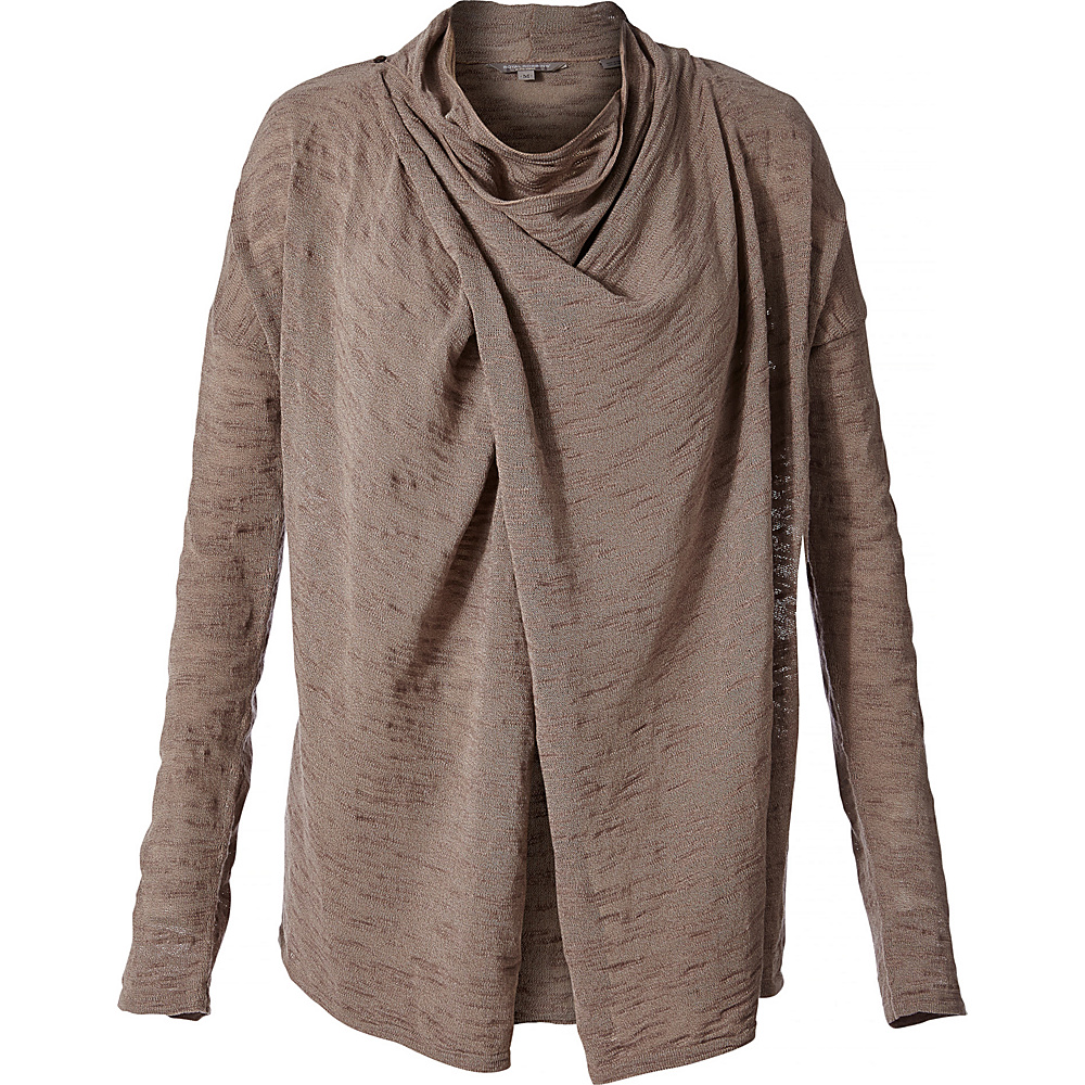 Royal Robbins Womens Tupelo Slub Cardi XL - Falcon - Royal Robbins Womens Apparel - Apparel & Footwear, Women's Apparel