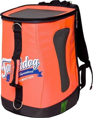 Touchdog Ultimate-Travel Airline Approved Backpack Carrying Water Resistant Pet Carrier Cantaloupe Orange - Touchdog Pet Bags