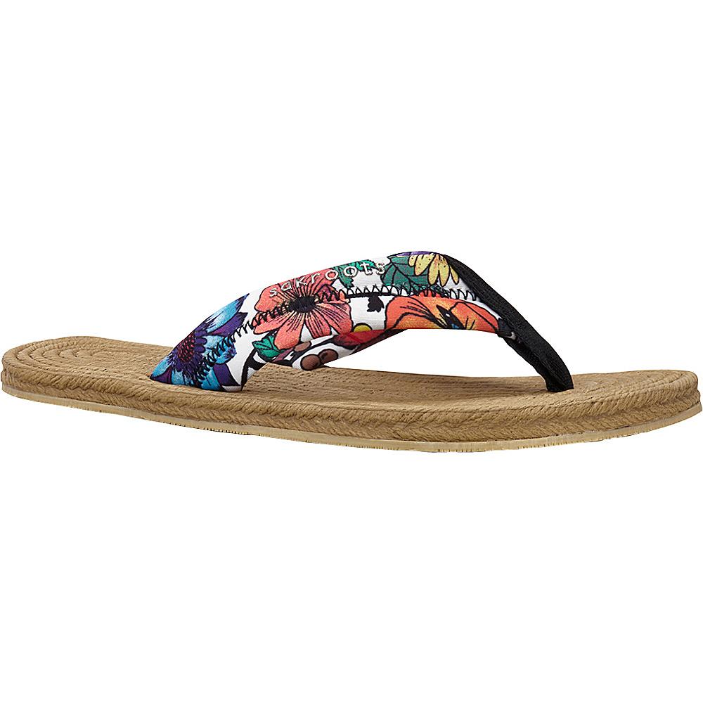 Sakroots Womens Elba Espadrille Sandal 10 - Optic In Bloom - Sakroots Womens Footwear - Apparel & Footwear, Women's Footwear