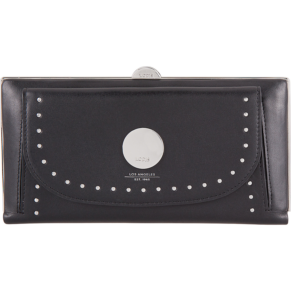 Lodis Pismo Stud RFID Keira Clutch Wallet Black - Lodis Womens Wallets - Women's SLG, Women's Wallets