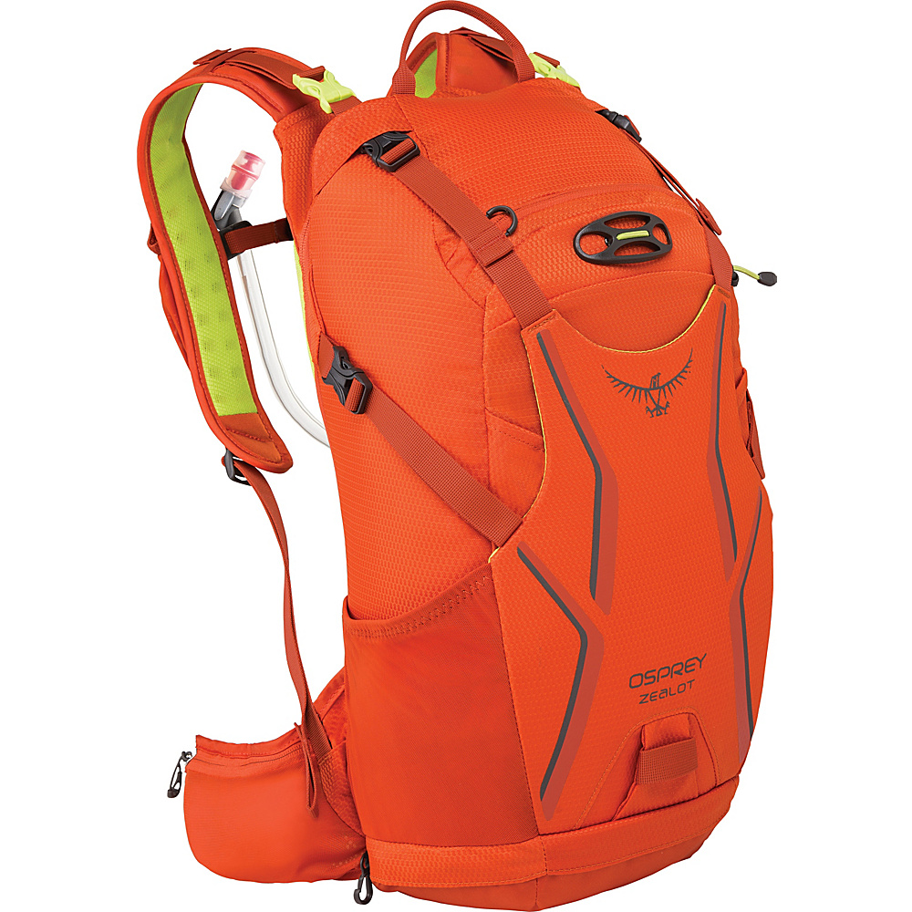 Osprey Zealot 15 Hydration Pack Atomic Orange – S/M - Osprey Hydration Packs and Bottles - Outdoor, Hydration Packs and Bottles