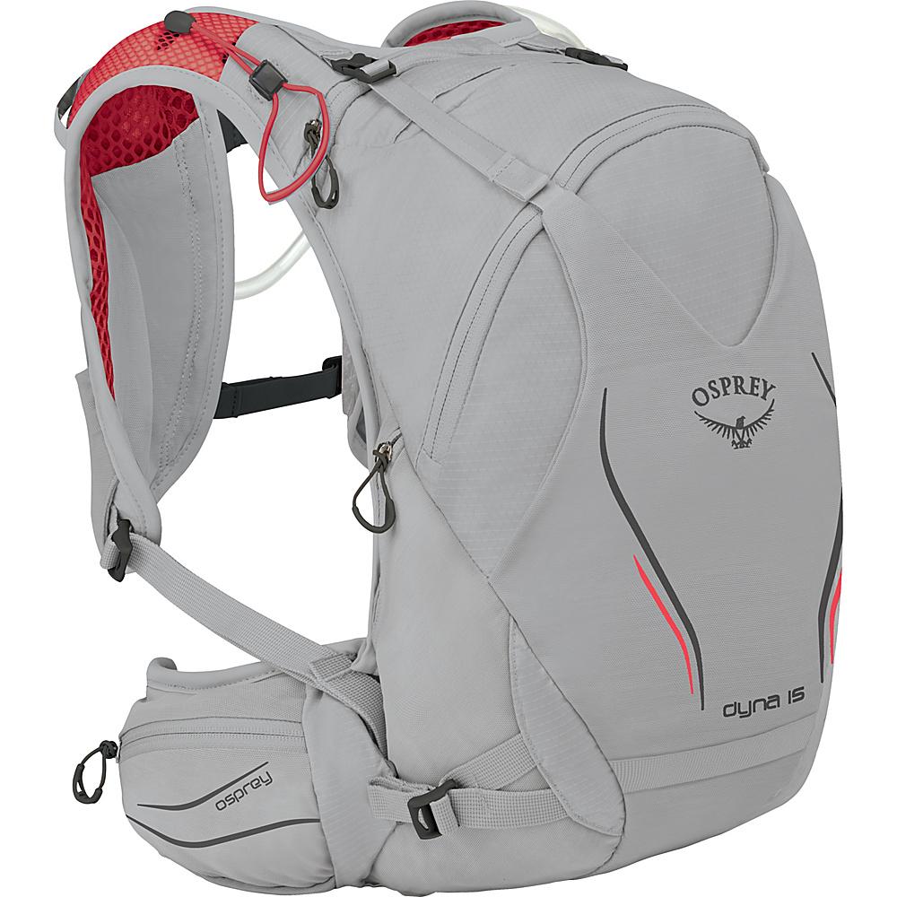 Osprey Dyna 15 Hydration Pack Silver Spark – XS/S - Osprey Hydration Packs and Bottles - Outdoor, Hydration Packs and Bottles