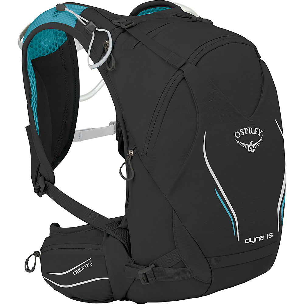 Osprey Dyna 15 Hydration Pack Black Opal – XS/S - Osprey Hydration Packs and Bottles - Outdoor, Hydration Packs and Bottles