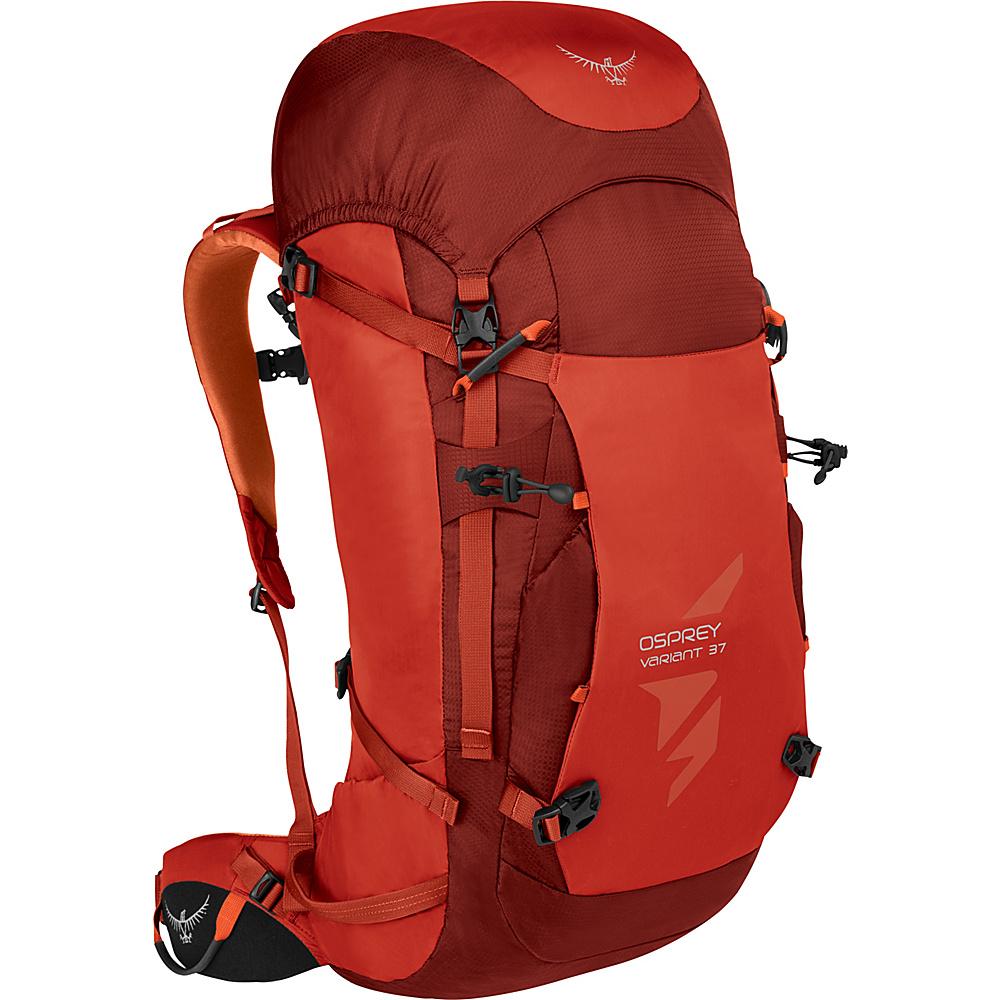 Osprey Variant 37 Hiking Backpack Diablo Red – SM - Osprey Day Hiking Backpacks - Outdoor, Day Hiking Backpacks