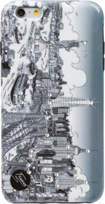 Charles Fazzino Illusions of New York iPhone 6/6S Plus Case Multi Color - Charles Fazzino Electronic Cases