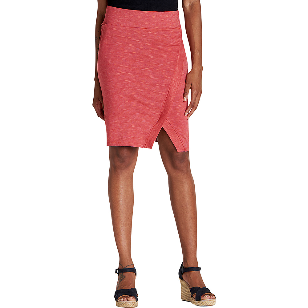 Toad & Co Womens Moxie Skirt XS - Rhubarb - Toad & Co Womens Apparel - Apparel & Footwear, Women's Apparel
