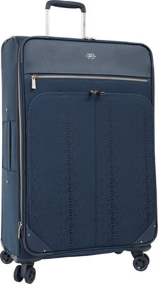 Vince Camuto Luggage Ameliah 20 inch Expandable Spinner Carry-On Luggage Dark Navy - Vince Camuto Luggage Softside Carry-On