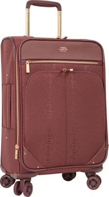 Vince Camuto Luggage Ameliah 20 inch Expandable Spinner Carry-On Luggage FIG - Vince Camuto Luggage Softside Carry-On