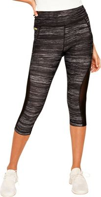 Lole Run Capri XS - Black Riga - Lole Women's Apparel