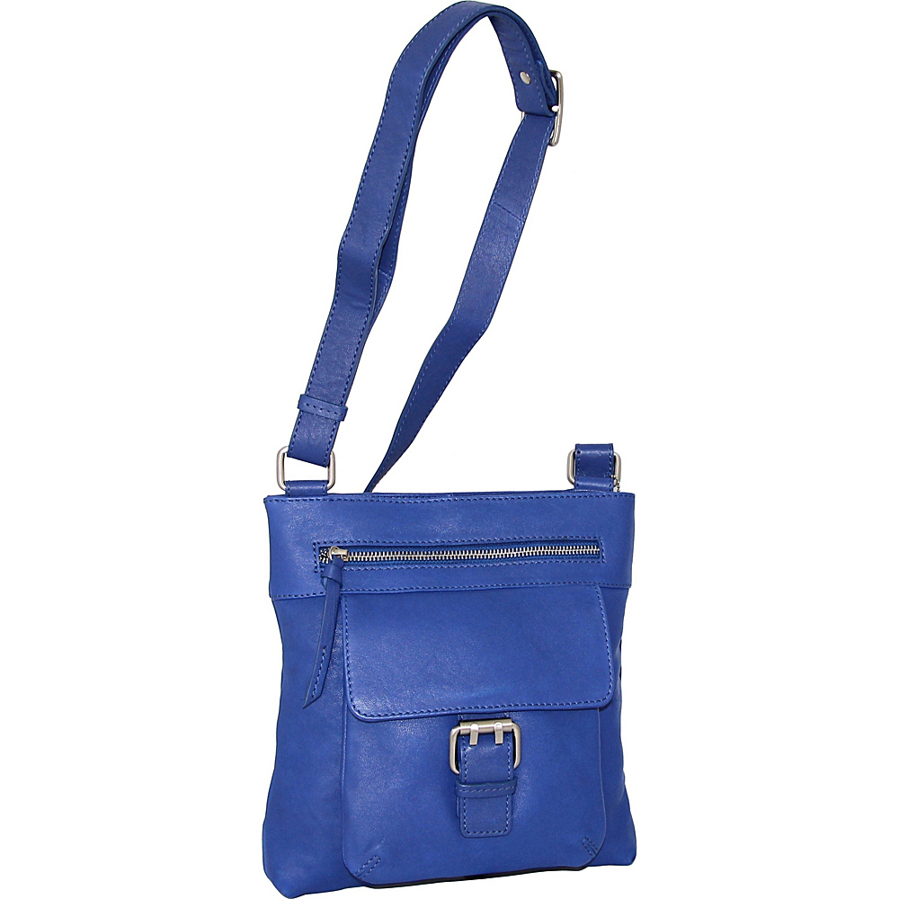 Nino Bossi Dolores Crossbody Cobalt - Nino Bossi Leather Handbags - Handbags, Leather Handbags