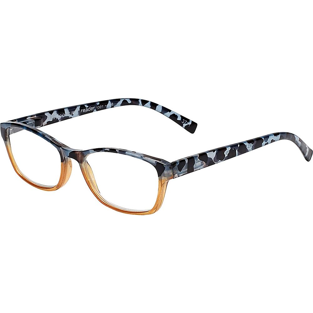 Select-A-Vision VK Couture Reading Glasses +1.25 - Brown Blue Demi - Select-A-Vision Sunglasses - Fashion Accessories, Sunglasses