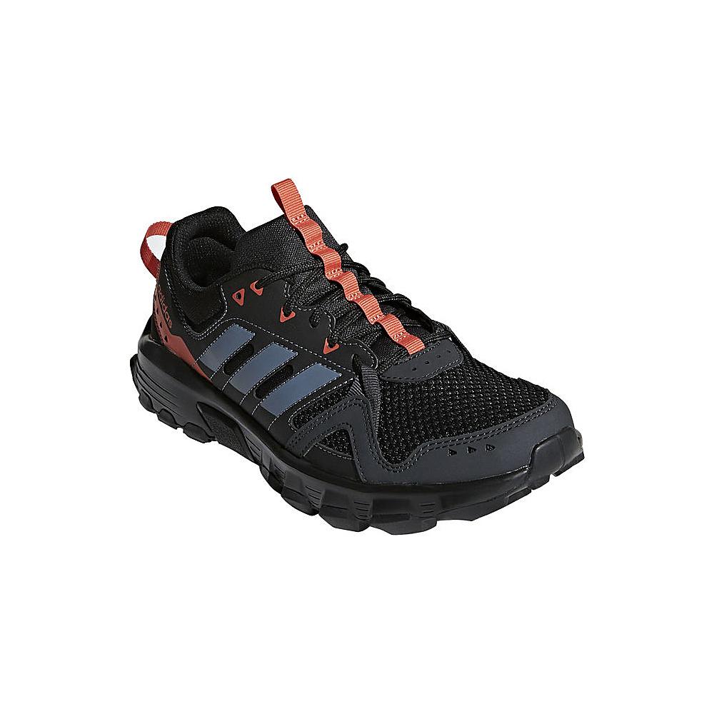 adidas outdoor Womens Rockadia Trail Shoe 9 - Carbon/Raw Steel/Trace Scarlet - adidas outdoor Womens Footwear - Apparel & Footwear, Women's Footwear