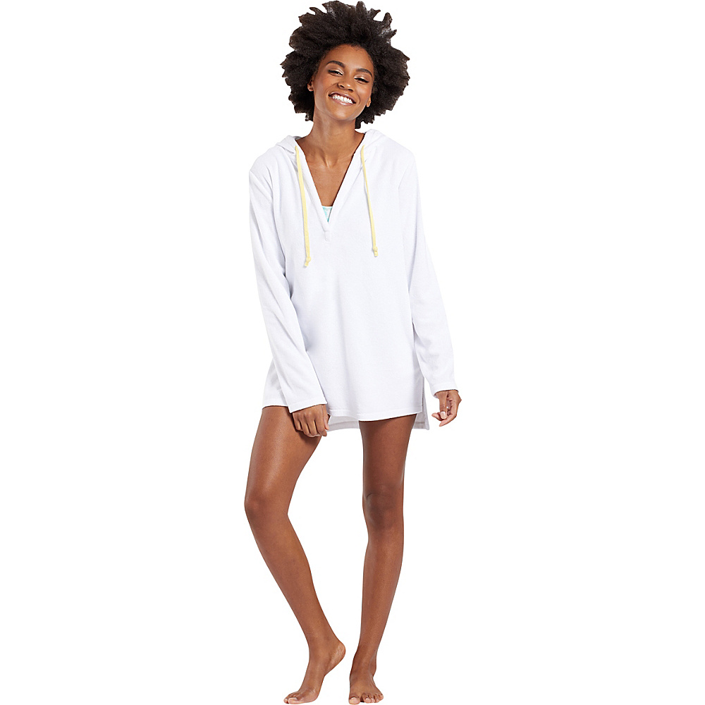 Life is good Terry Beach Cover Up XS - Cloud White - Life is good Womens Apparel - Apparel & Footwear, Women's Apparel