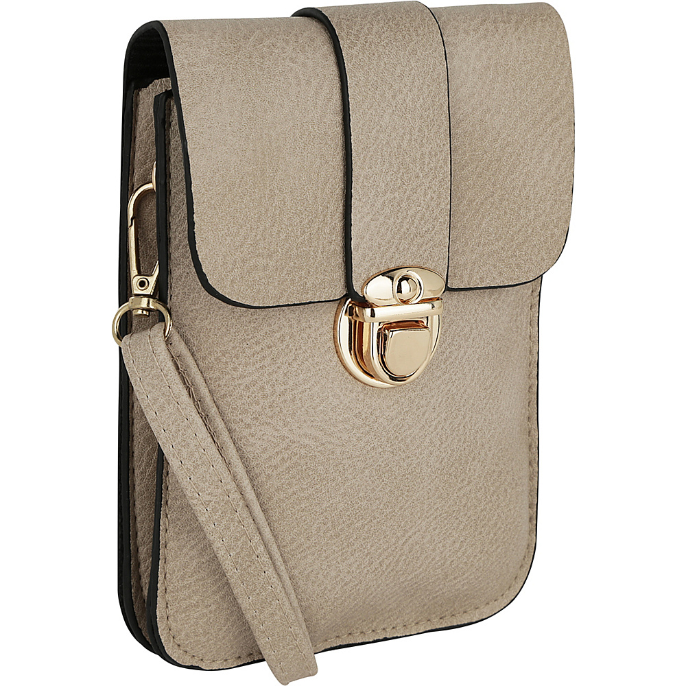 MKF Collection by Mia K. Farrow Leandra Phone Wallet Sand - MKF Collection by Mia K. Farrow Manmade Handbags - Handbags, Manmade Handbags