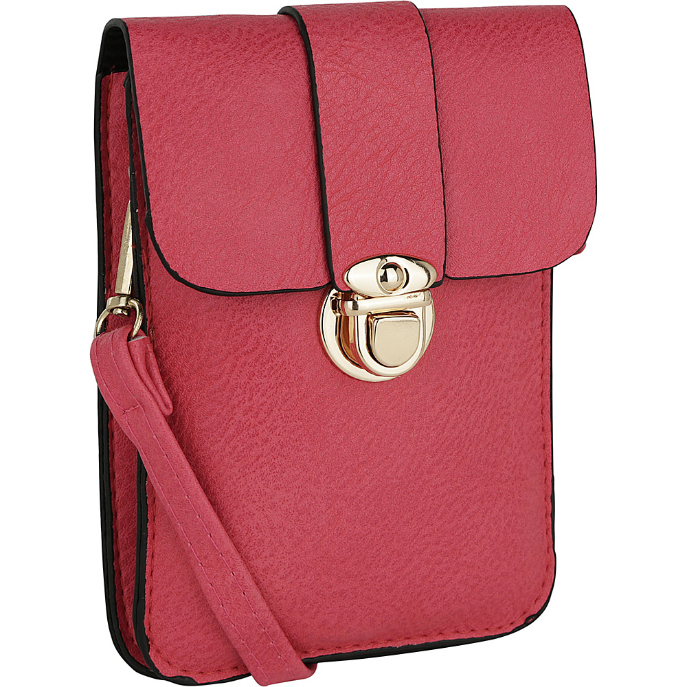 MKF Collection by Mia K. Farrow Leandra Phone Wallet Fuchsia - MKF Collection by Mia K. Farrow Manmade Handbags - Handbags, Manmade Handbags