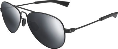 Under Armour Eyewear Getaway Sunglasses Satin Black/Black/Gray Mirror - Under Armour Eyewear Sunglasses