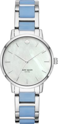 kate spade watches Two-Tone Metro Watch Blue - kate spade...