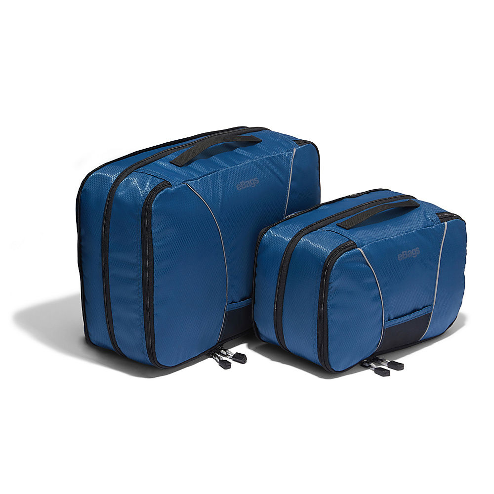 eBags Classic 2pc Compression Cubes Denim - eBags Packing Aids