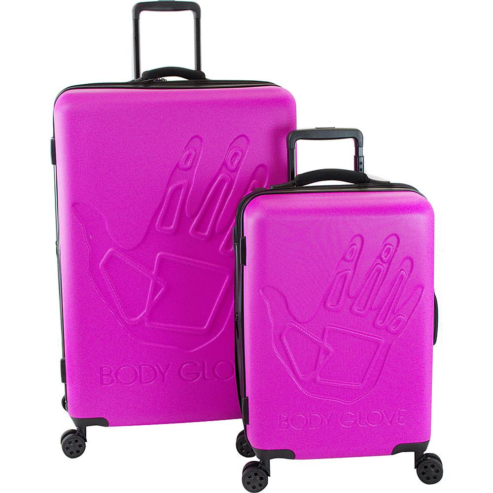 BODY GLOVE Long Lat Redondo 2 Piece Hardside Spinner Luggage Set Pink – BODY GLOVE Long Lat Luggage Sets