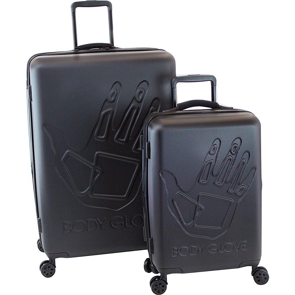 BODY GLOVE Long Lat Redondo 2 Piece Hardside Spinner Luggage Set Black – BODY GLOVE Long Lat Luggage Sets