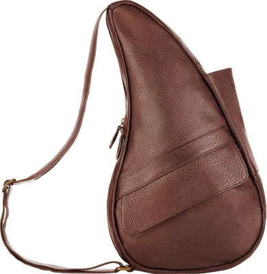 AmeriBag Healthy Back Bag evo Leather Medium Chestnut - AmeriBag Leather Handbags