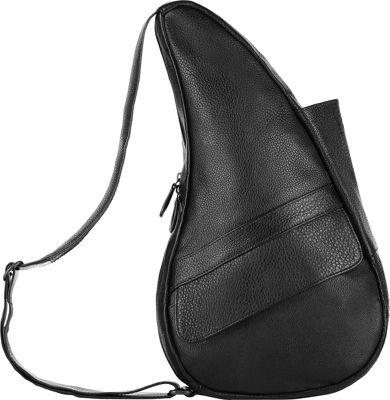AmeriBag Healthy Back Bag evo Leather Medium Black - AmeriBag Leather Handbags