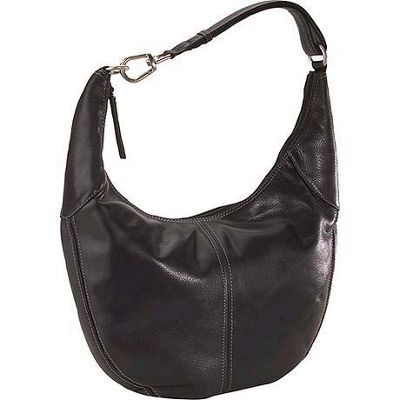 Derek Alexander Yukon Leather Hobo Shoulder Bag 45