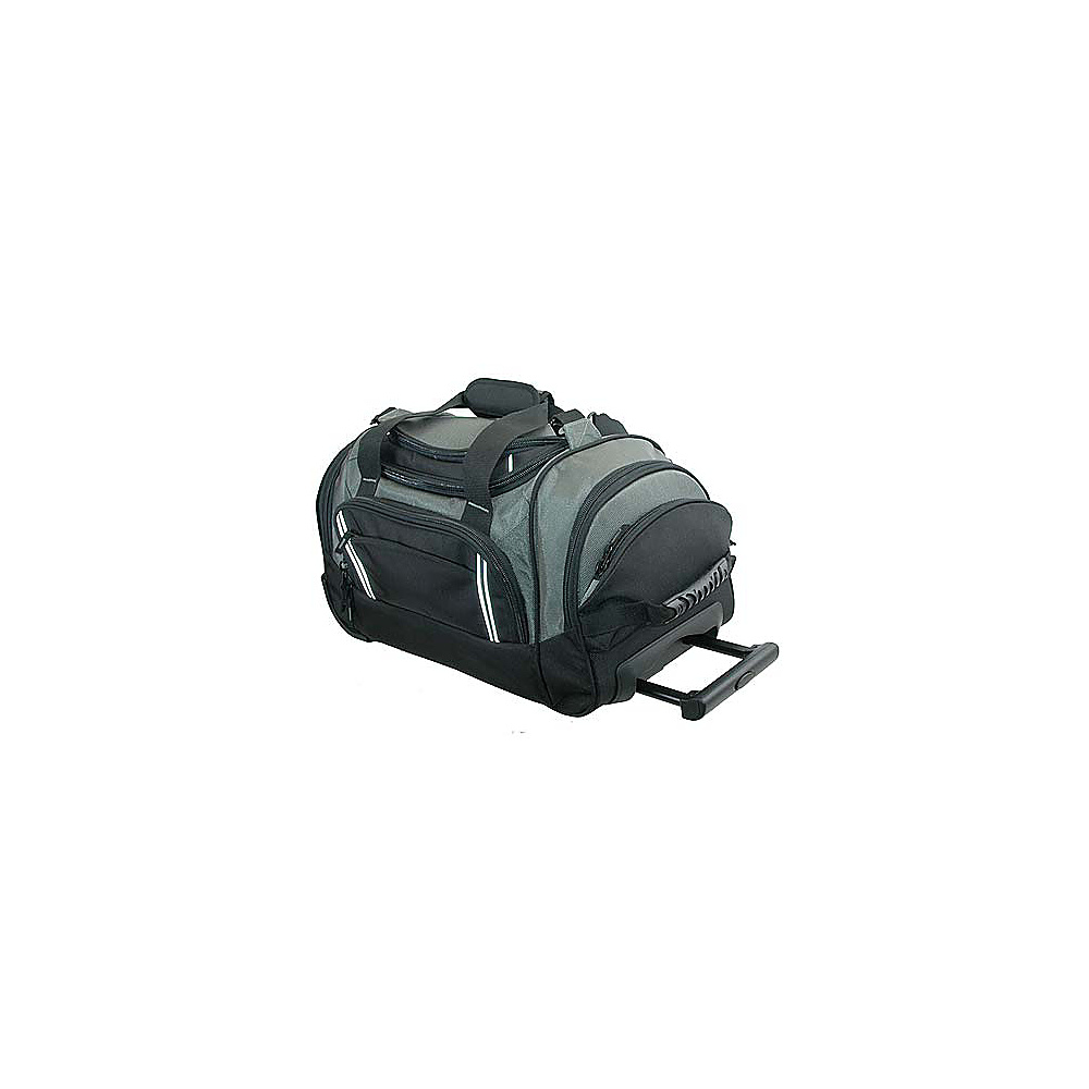 Netpack Travel Pal Duffel - Grey/Black - Luggage, Rolling Duffels