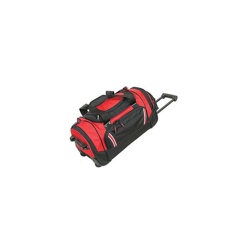 Netpack Travel Pal Duffel - Red/Black - Luggage, Rolling Duffels