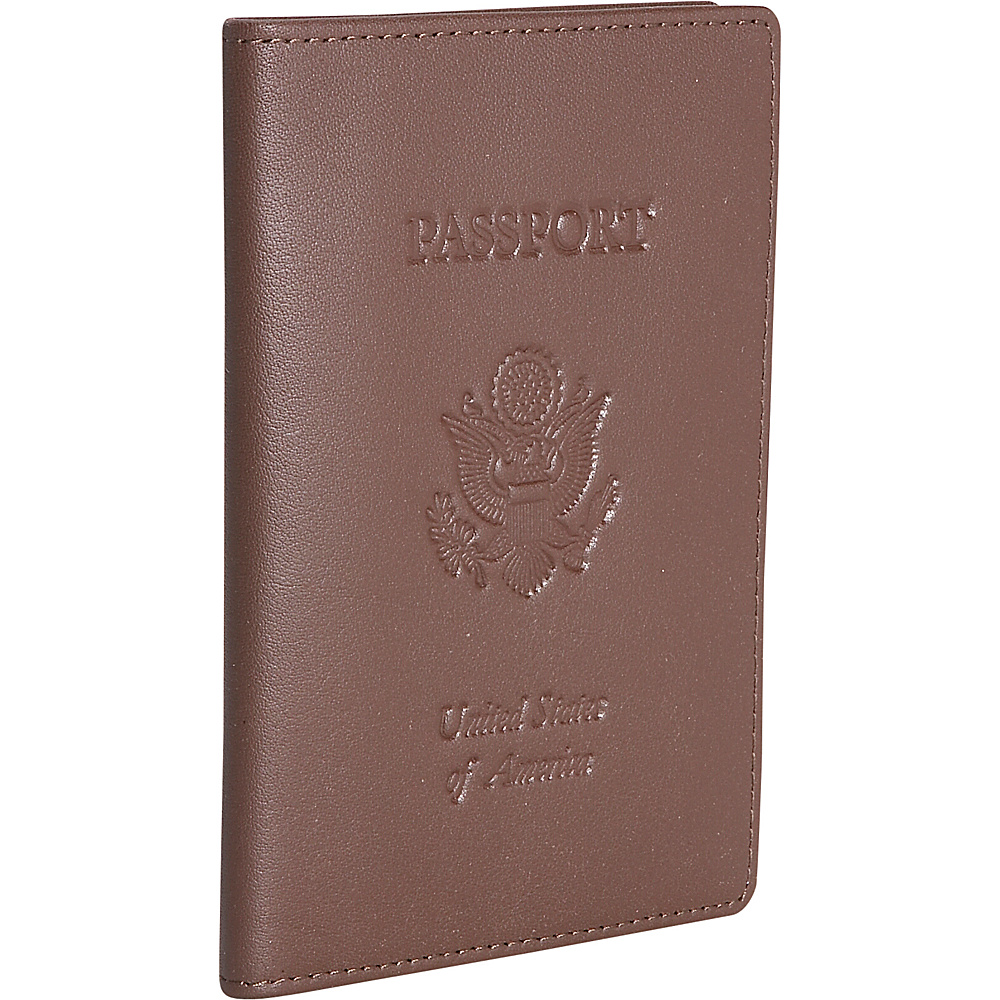 Royce Leather Leather Passport Jacket - Coco - Travel Accessories, Travel Wallets