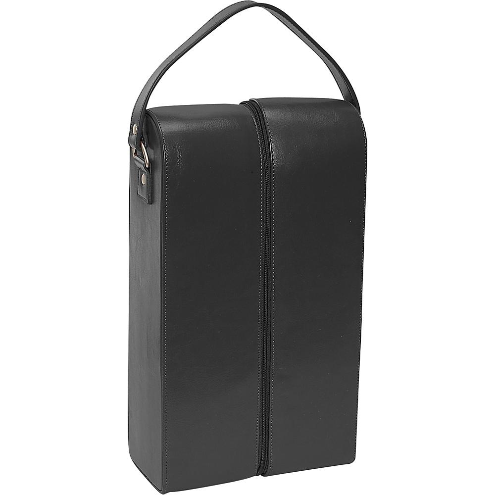 Royce Leather Double Wine Presentation Case - Genuine - Outdoor, Outdoor Accessories