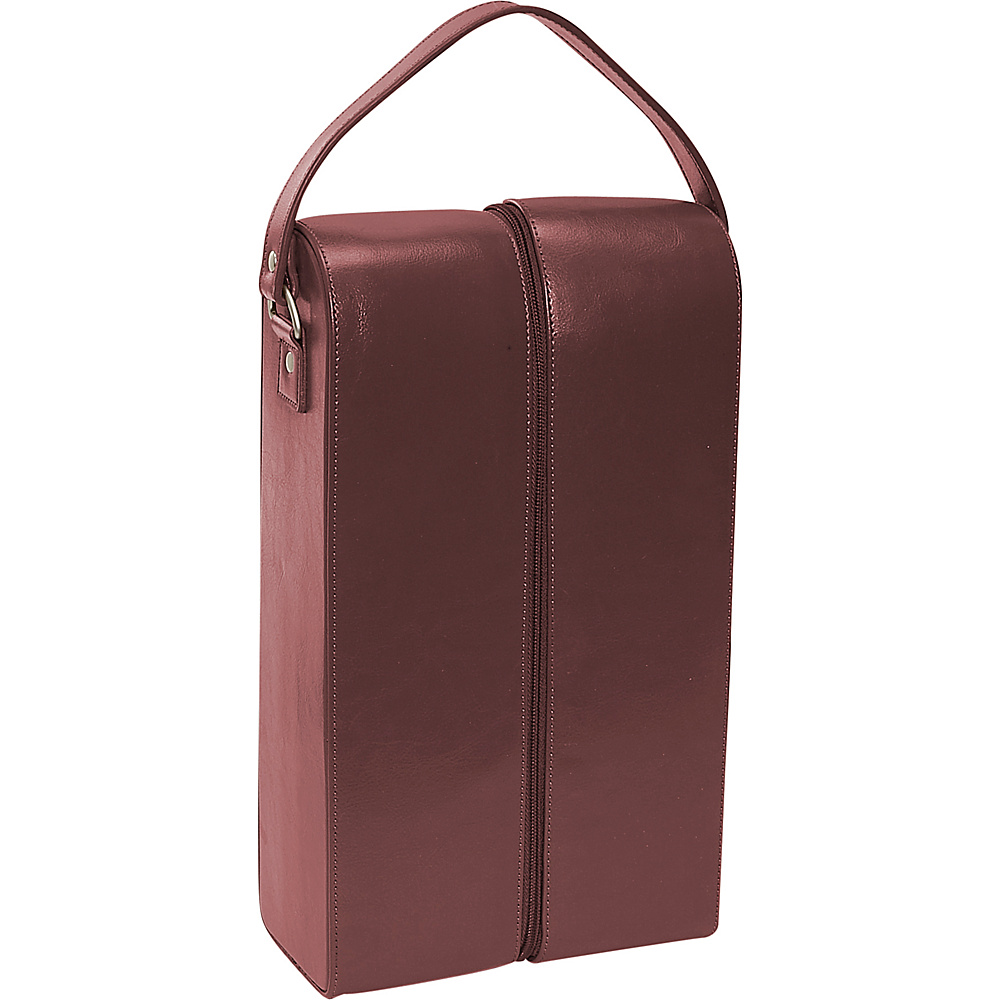 Royce Leather Double Wine Presentation Case - Genuine - Outdoor, Outdoor Accessories
